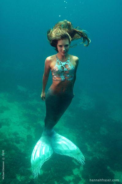 人魚のようなハンナ・フレイザー(Hannah Fraser) 7