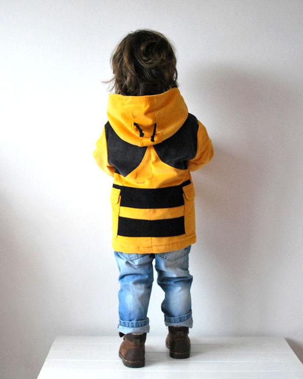 子供用の動物フード付きコートが反則的な可愛さ! (9)