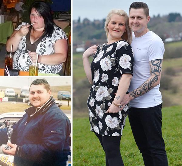 【比較画像】太ったカップルが痩せた (11)