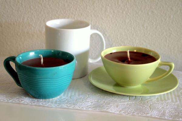 10 カップで作る自作キャンドル