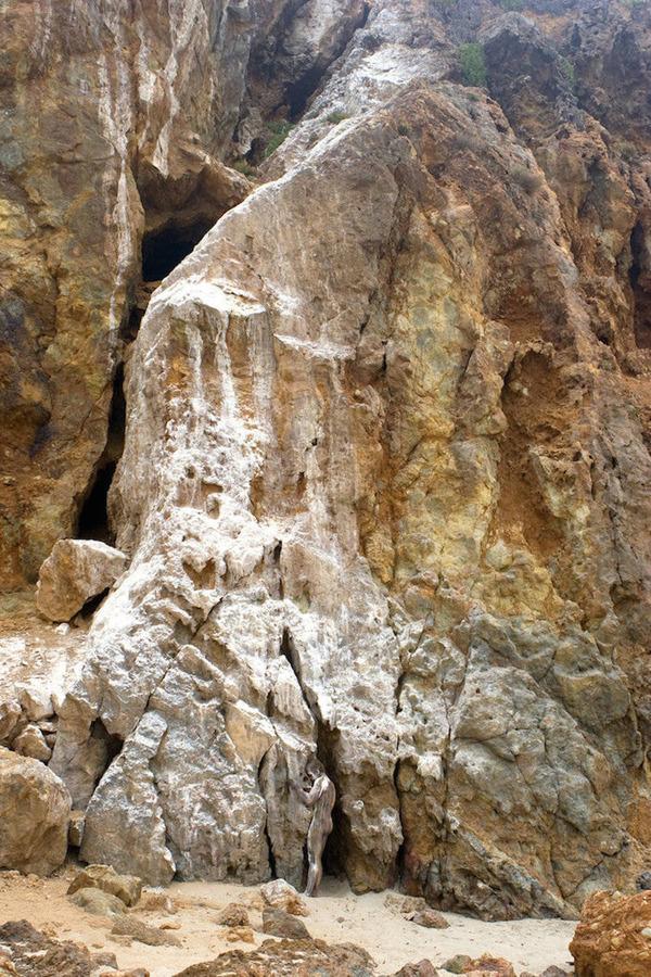 ボディペイントで自然と一体化!擬態化したような人間の画像 (7)