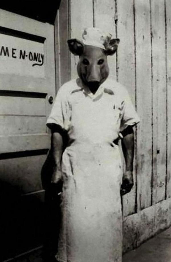 昔のハロウィンの写真がガチでホラーすぎる…! (11)