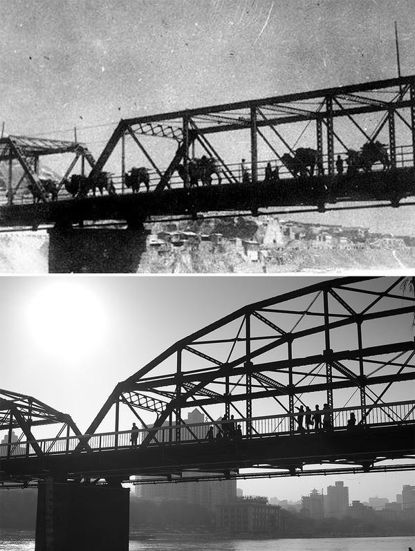 発展した中国の都市風景を比較!過去と現在の画像100年 (7)