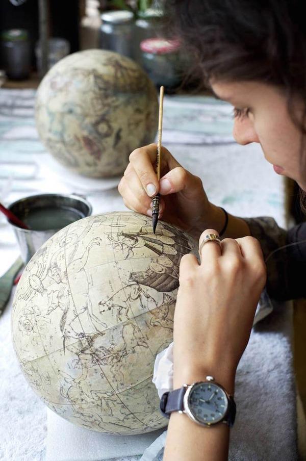 世界を旅したくなる。価値ある手作り地球儀の製作現場 (2)