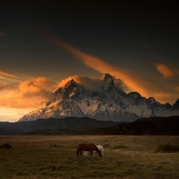 嵐の大地パタゴニアの美しく雄大な自然風景写真 (9)