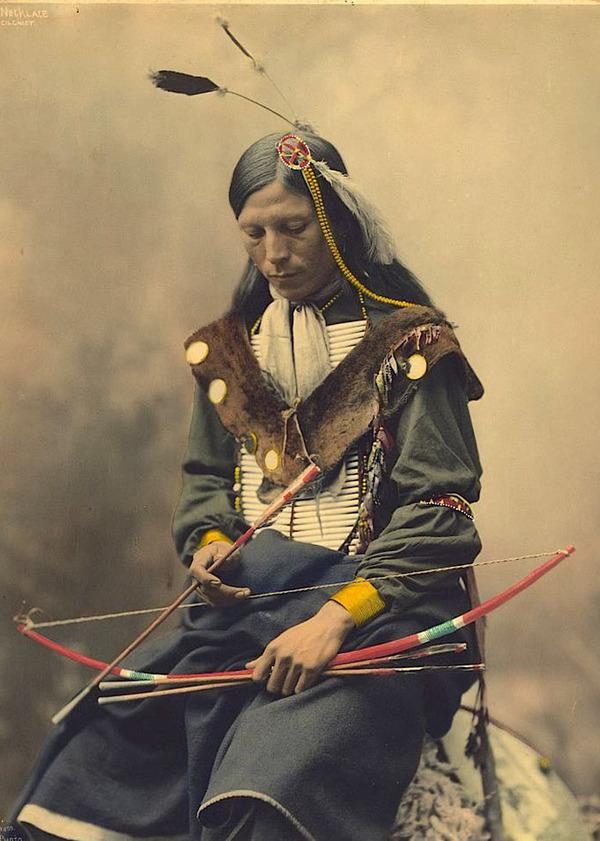 インディアン(ネイティブ・アメリカン)の貴重なカラー化写真 (30)