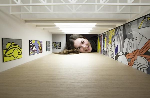 ミニチュア美術館を観に来たらアートの一部になっちゃった人達 (5)