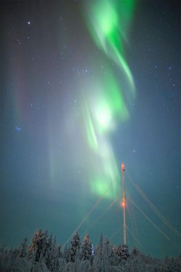 フィンランドのオーロラ5
