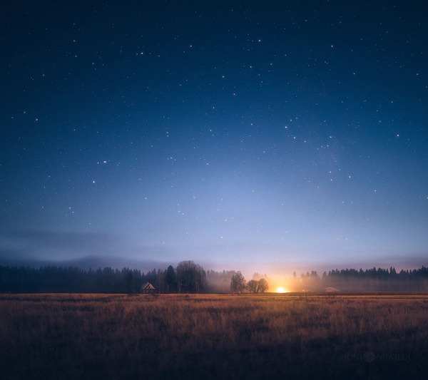 綺麗すぎ!フィンランドの夜空、満天の星空の写真 (1)