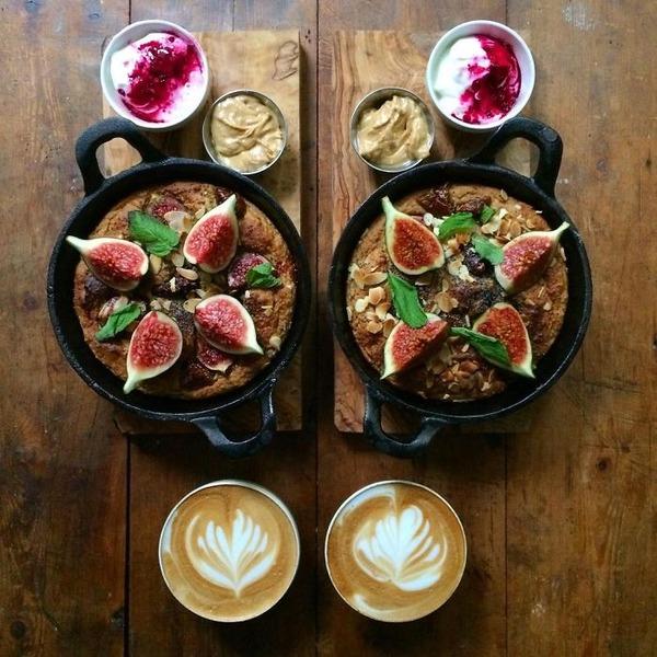 美味しさ2倍!毎日シンメトリーな朝食写真シリーズ (37)