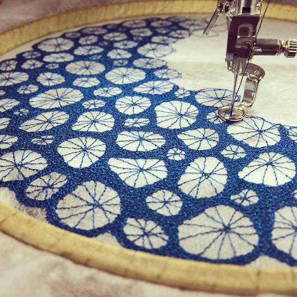 ミシンで作る!葉脈や珊瑚をモチーフにした透かし彫りの刺繍 (5)