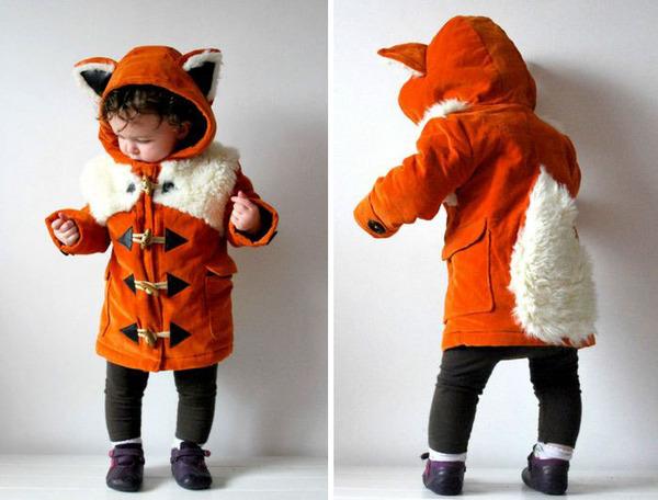 子供用の動物フード付きコートが反則的な可愛さ! (5)