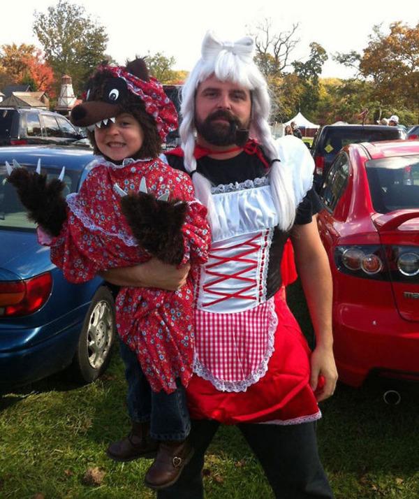 #5 娘はオオカミ、パパは赤頭巾