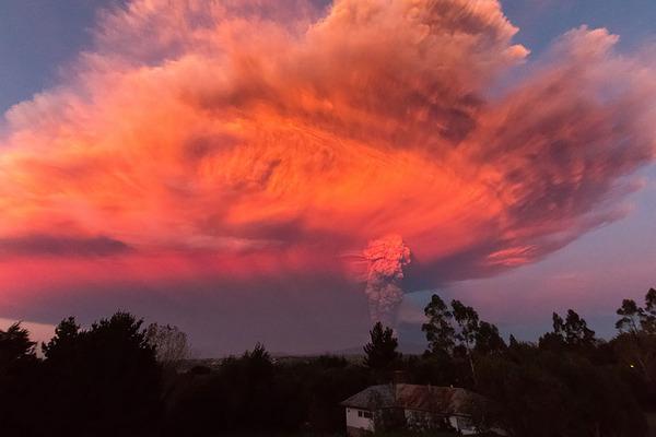 チリのカルブコ火山噴火 2015年 16