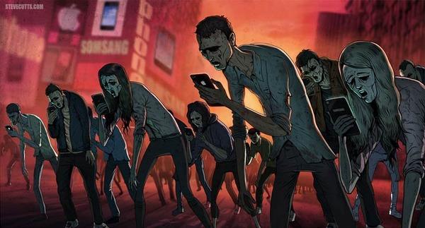 現代社会の悲しい現実を風刺的に描くユニークなイラスト (1)