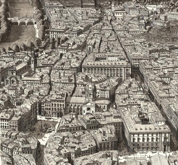 超精密!記憶を頼りに世界の都市景観を描くモノクロ絵画 (4)