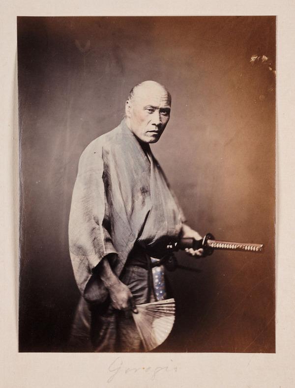 ラストサムライ…!19世紀、明治時代の侍の貴重な写真 (10)
