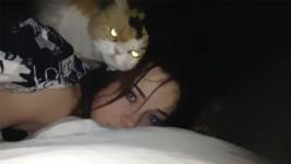 猫は密かに飼い主の暗殺を企てているという衝撃の証拠画像がここに…