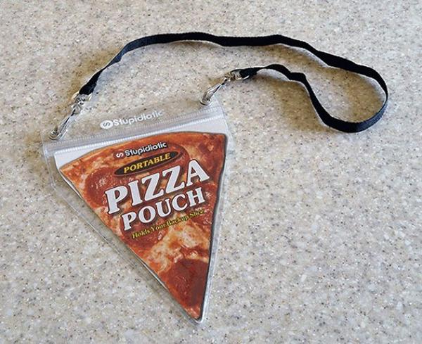 ピザポーチ!ピザを愛する人に、ピザを携帯できるユニークグッズ (2)
