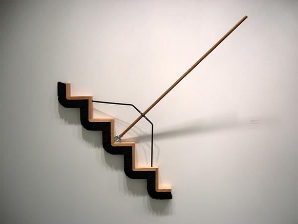 長い…とてつもなく長いよ!物の形を変形させた彫刻作品 (4)