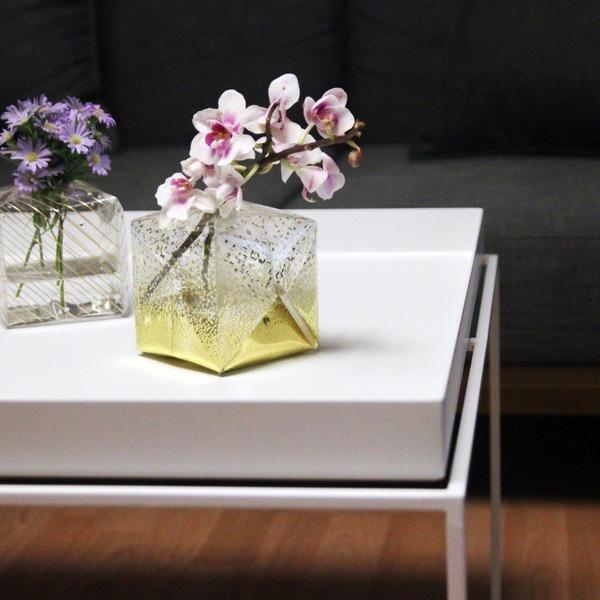 『O2 VASE』折り紙の紙風船みたいに膨らませる可愛い花瓶 (11)