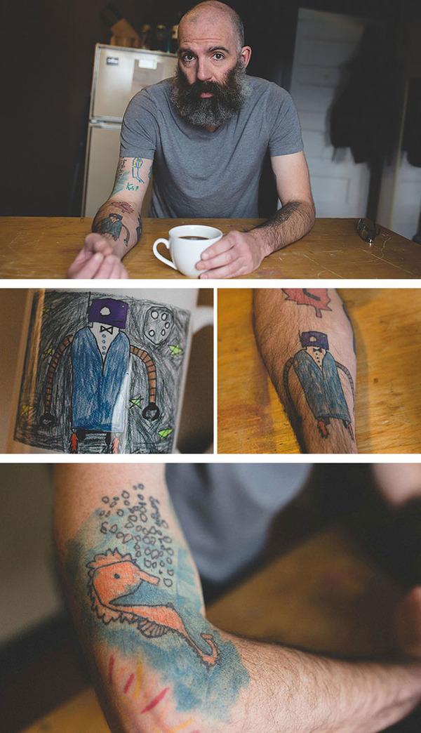 #13 息子のタトゥー