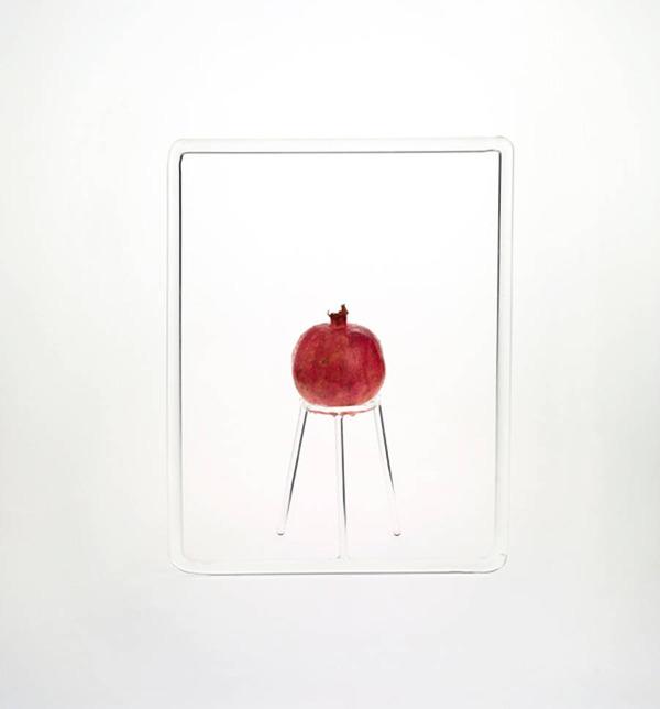 フルーツを飾るためのガラスのユニークデザイン (9)
