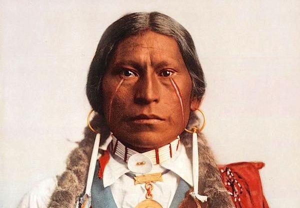 インディアン(ネイティブ・アメリカン)の貴重なカラー化写真 (43)