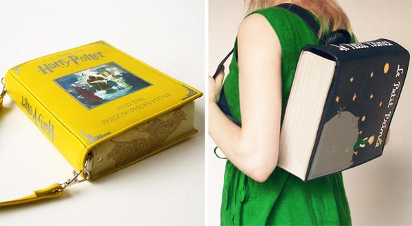 小説をモチーフにした本のバッグがかわいい (11)