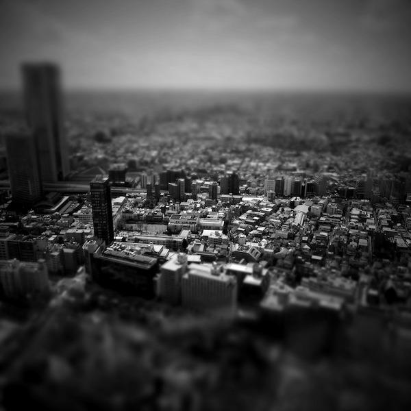 ミニチュアジオラマ風の東京の写真!チルトシフト (8)