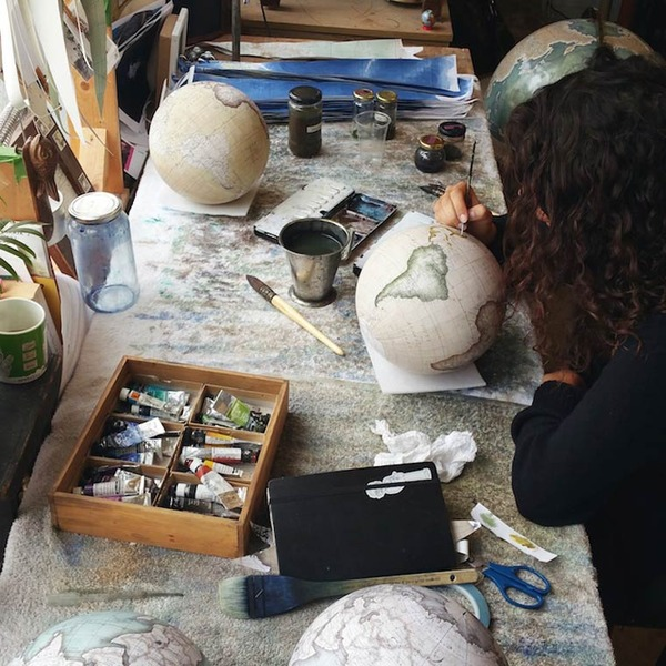 世界を旅したくなる。価値ある手作り地球儀の製作現場 (10)