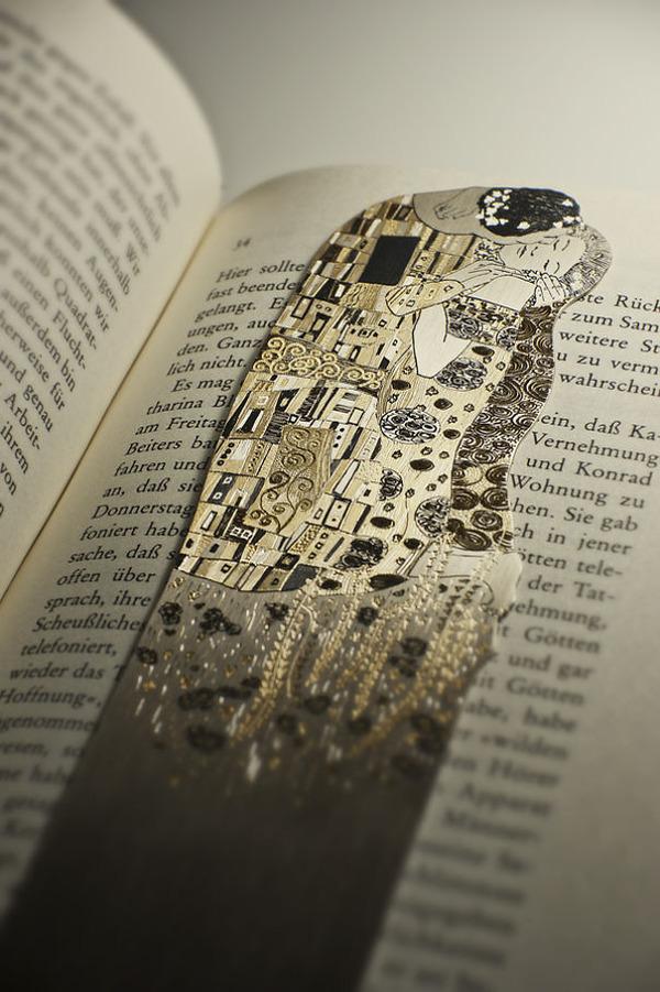 silverleaf 銀の彫刻が施された栞(しおり)4