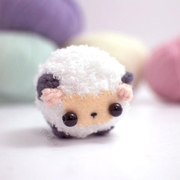 小さすぎる可愛すぎる動物の『あみぐるみ』 (11)