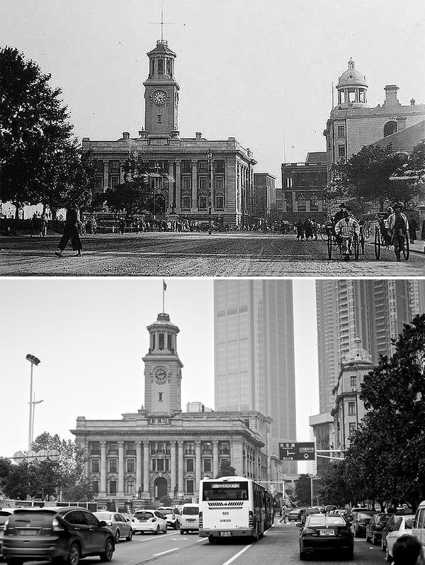発展した中国の都市風景を比較!過去と現在の画像100年 (3)