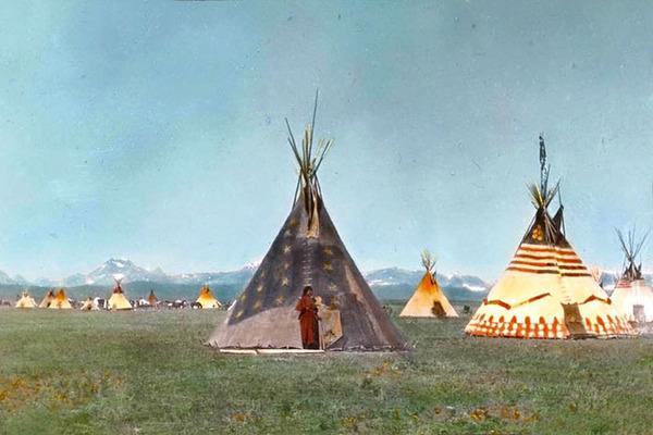 インディアン(ネイティブ・アメリカン)の貴重なカラー化写真 (17)