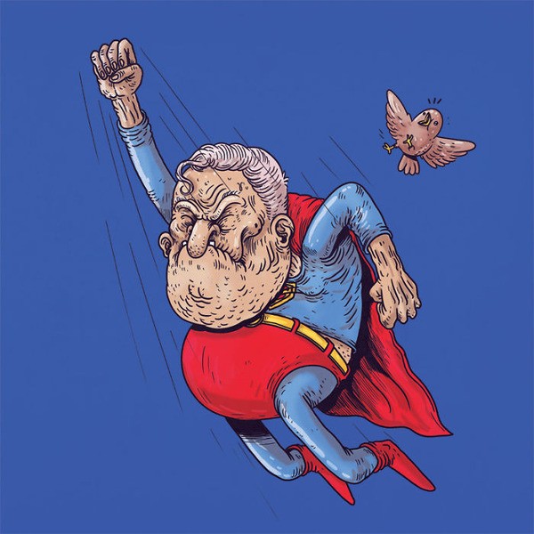 Hoary age of Superman