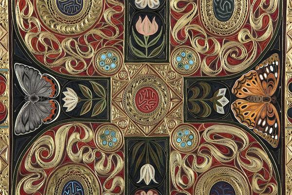 紙で作られた絨毯など、超大作なペーパークイリングアート! (7)