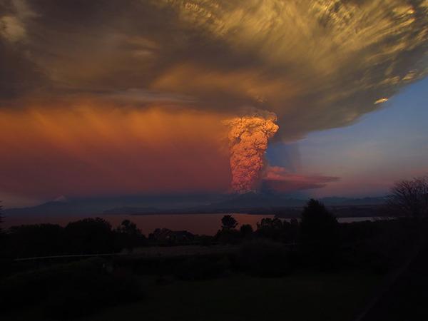 チリのカルブコ火山噴火 2015年 13