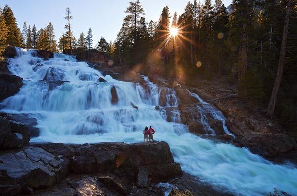 旅に出たくなる!美しい大自然と人間が一緒の写真 (6)
