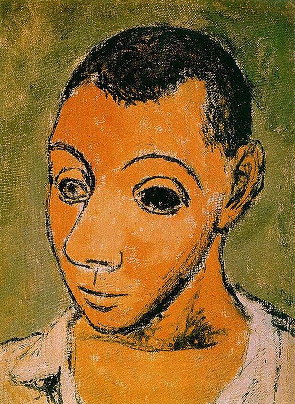 ピカソの自画像!15歳から90歳までの肖像画 (1)