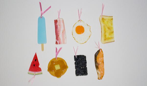 超リアルな日本製の栞(しおり)『食べものしおり』 (15)