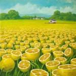 レモンが大好き!ひたすらレモンに満ち溢れる世界を描いた画家