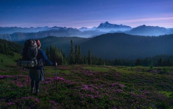 旅に出たくなる!美しい大自然と人間が一緒の写真 (3)