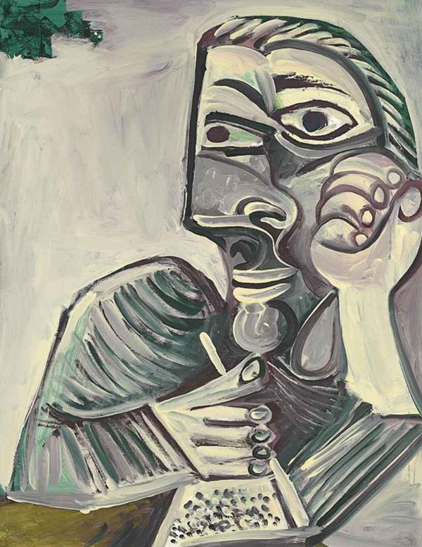 ピカソの自画像!15歳から90歳までの肖像画 (12)
