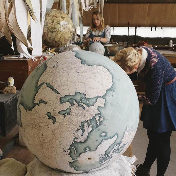 世界を旅したくなる。価値ある手作り地球儀の製作現場 (17)