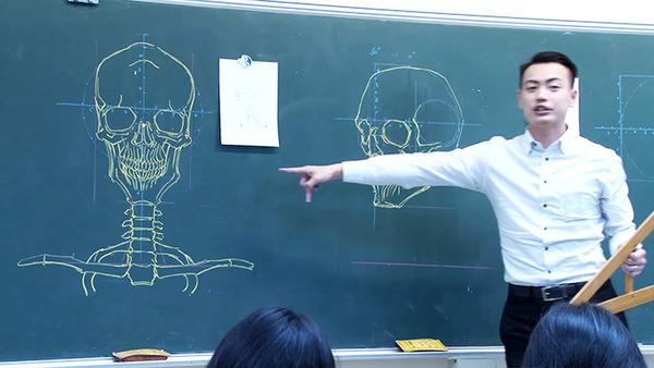 分かりやすい!デッサンスキルを生かした解剖学の授業 (6)