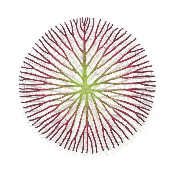 ミシンで作る!葉脈や珊瑚をモチーフにした透かし彫りの刺繍 (2)