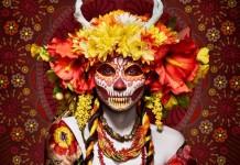 「Las Muertas」死を祝う「死者の日」がテーマのアート写真