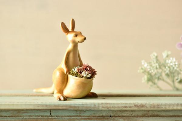 動物や植物な樹脂製アートプランター!『HARIMOGURA』 (7)