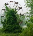 自然や植物に呑み込まれていく廃墟や人工物の画像18枚
